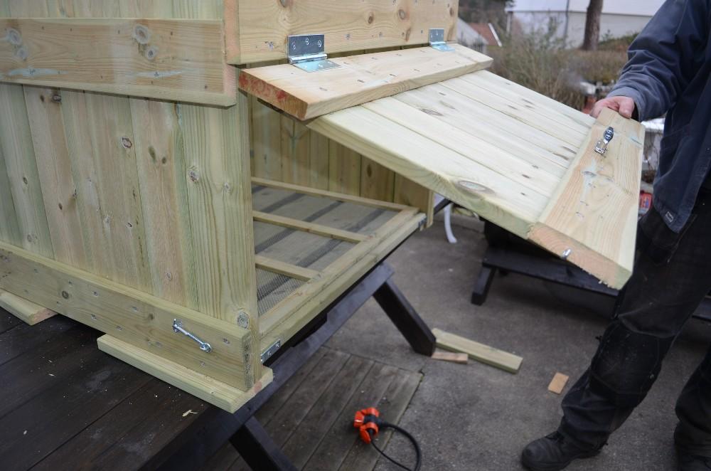 Hvordan bygge en kompostbinge til varmkompost for mat avfall