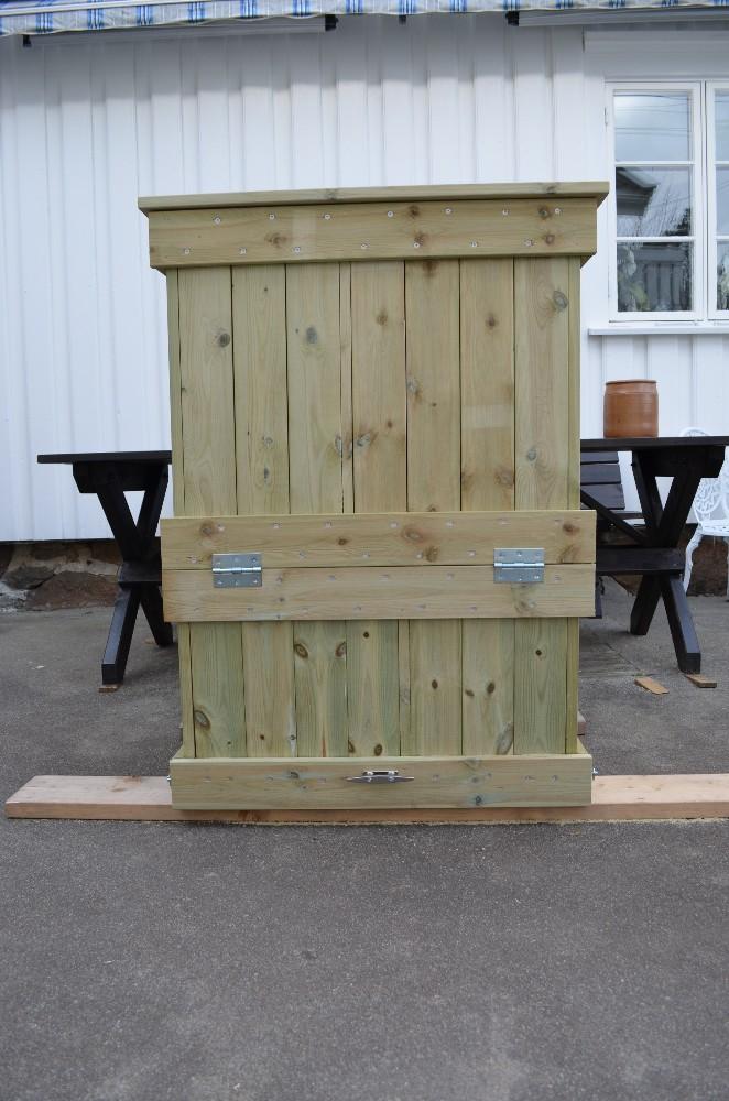 hvordan bygge en kompostbinge