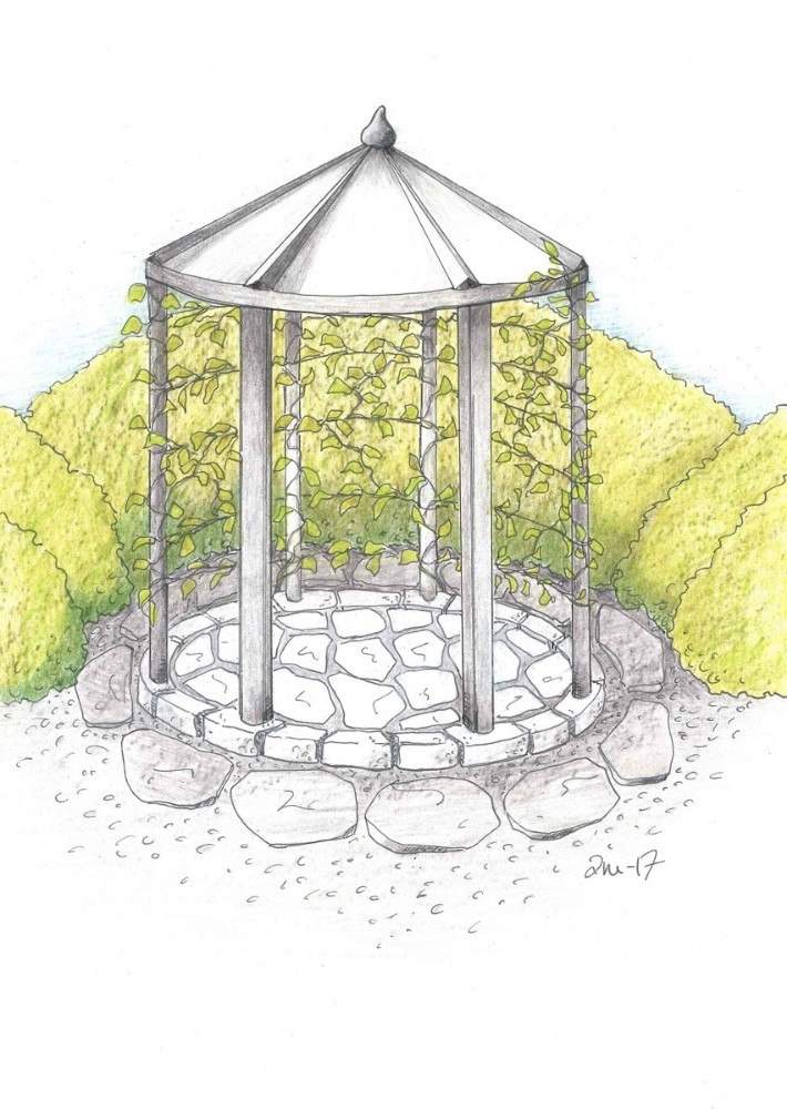Paviljon bygg for hage © Tone Minde